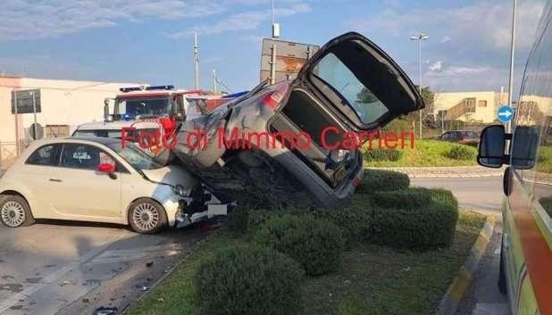 Manduria, pauroso incidente sulla via per Oria