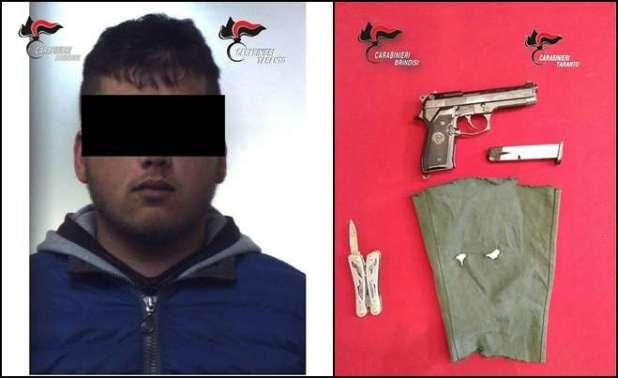 Oria : arrestato l'autore della rapina ai danni di una tabaccheria di Manduria