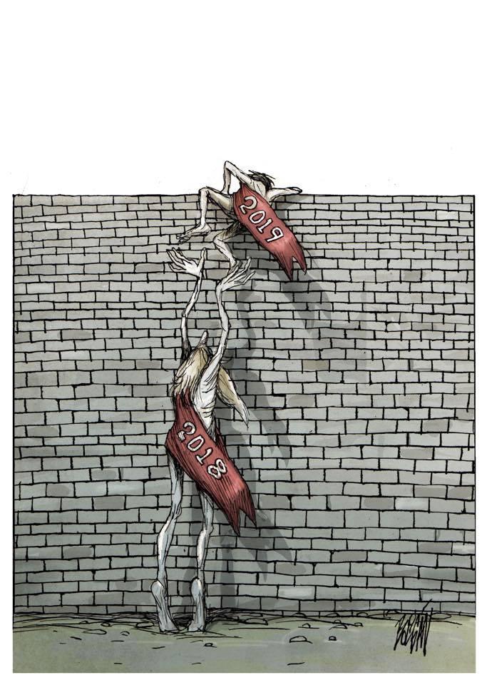 Per un 2019 senza muri