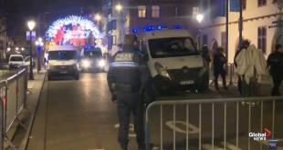 Francia: spari nel centro di Strasburgo nei mercatini di Natale, 2 morti accertati e 11 feriti