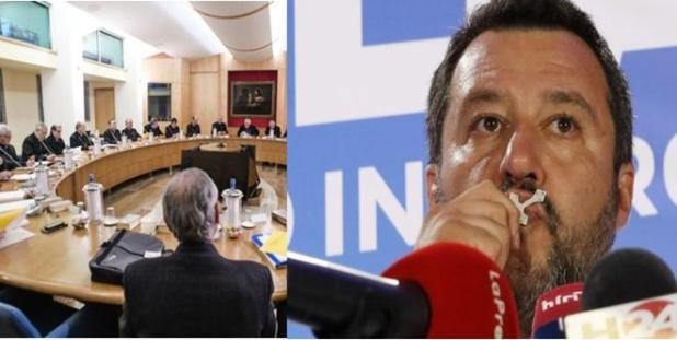 Analisi o interpretazione? Cei il vero oppositore della Lega di Salvini