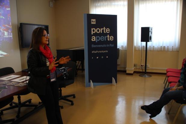 """""""Porte Aperte"""" alla Rai per gli studenti del Liceo De Sanctis Galilei di Manduria"""
