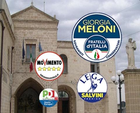 Elezioni Europee: Maruggio, vola Fratelli d'Italia e diventa primo partito superando il 20%