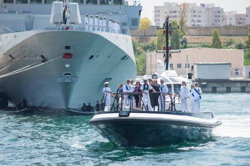 Difesa: il Ministro Elisabetta Trenta alla Festa della Marina a Taranto