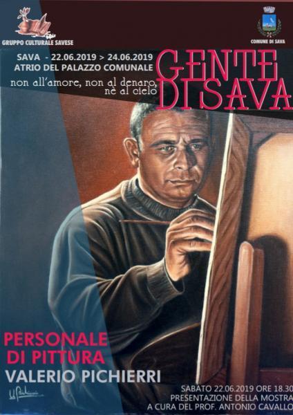 Sava: Personale di pittura Valerio Pichierri