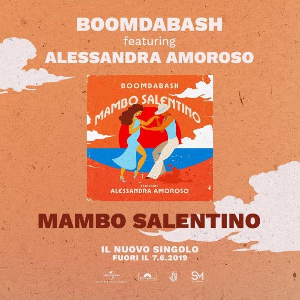 Mambo Salentino è il nuovo tormentone estivo dei Boomdabash con Alessandra Amoroso
