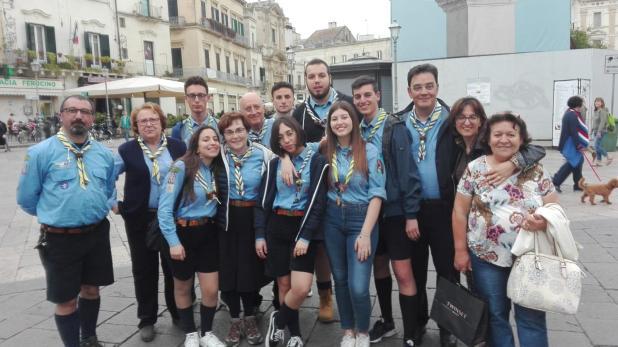Esperienze: il Clan Orione del gruppo scout Maruggio I, in visita alla casa circondariale di Lecce