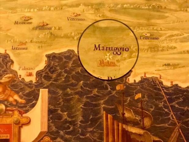 Maruggio nella Galleria dei Musei Vaticani