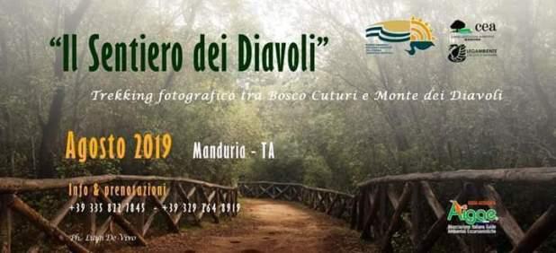 """""""Il Sentiero dei Diavoli"""" - Trekking fotografici tra il Bosco Cuturi e il Monte dei Diavoli"""