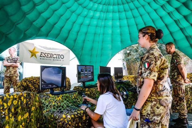 L'Esercito alla 83^ Fiera del Levante: tecnologia, sport e cultura