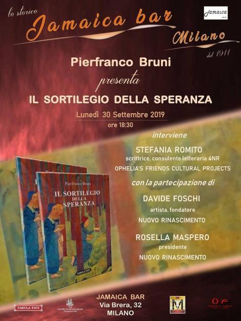 Il Sortilegio della Speranza di Pierfranco Bruni. La ricerca del proprio orizzonte tra gli infiniti confini della memoria