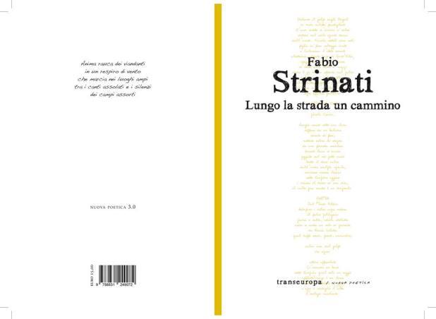 Lungo la strada un cammino, il nuovo libro del poeta marchigiano Fabio Strinati