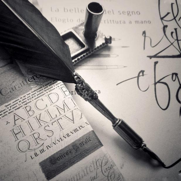 Scrivo a mano perché le mie parole sono la mia voce