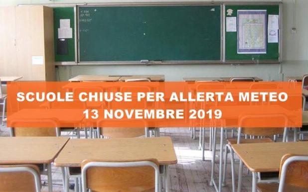 Scuole chiuse anche domani 13 novembre a Maruggio, Manduria, Avetrana, Sava e Torricella