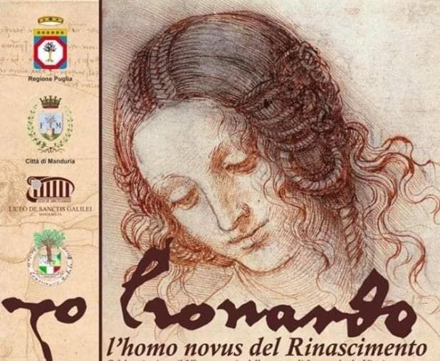 Il Liceo De Sanctis Galilei di Manduria celebra Leonardo -Sabato 30 novembre- Una scuola che fa cultura