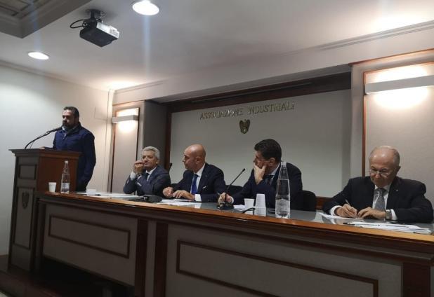 La nota del vicesindaco di Maruggio Giovanni Maiorano, in Confindustria a Taranto con i rappresentanti dei comuni della provincia