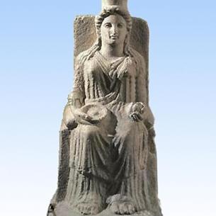 Paestum, Hera con melograno