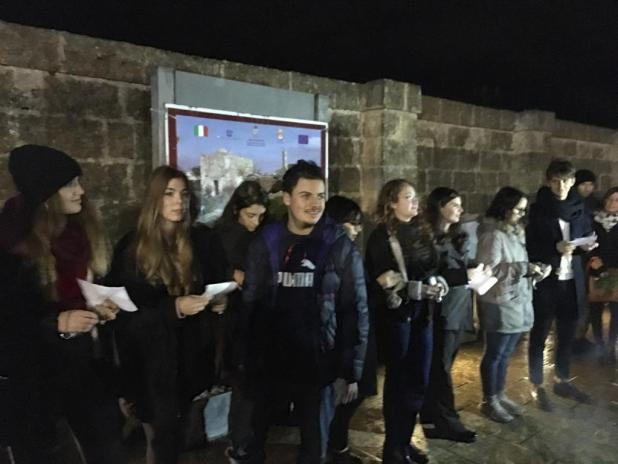 AL FONTE PLINIANO DI MANDURIA RIVIVONO LE FESTE SATUNALIA CONTINUA LA COLLABORAZIONE TRA SPIRITO SALENTINO E LICEO DE SANCTIS GALILEI