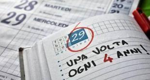 29 febbraio, nessuno che gli dia credito, che gli assegni un evento importante o che gli programmi un appuntamento!