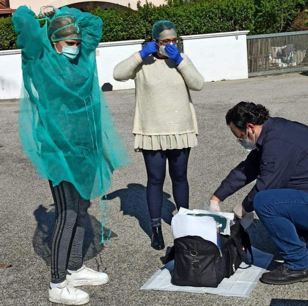 Rilevamento tamponi domiciliari, in tenda al PTA di Massafra e test sierologico: modalità operative del Dipartimento di Prevenzione