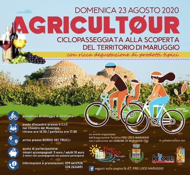 Agricoltour 2020! Ultimo appuntamento domenica 23 agosto