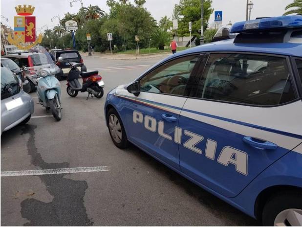 Controlli della Polizia di Stato nel fine settimana.