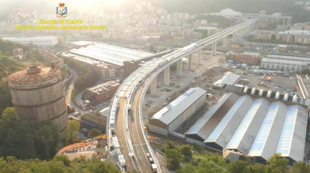 Ponte Morandi. Attentato alla sicurezza dei trasporti e frode in pubbliche forniture, eseguite 6 misure cautelari personali nei confronti di ex top manager e attuali manager di Autostrade per l'Italia SpA.