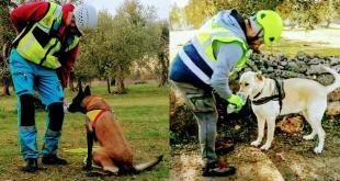 Da Sava con i cani alla ricerca di persone scomparse