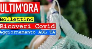 ASL TARANTO - 10 maggio 2021 – Aggiornamento ricoveri per Covid