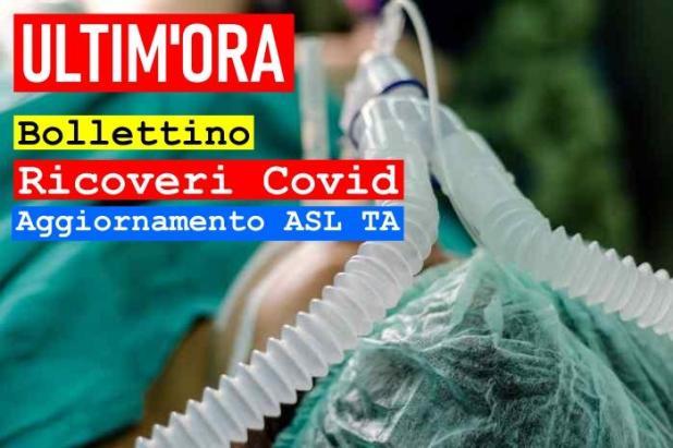 ASL TARANTO - 19 maggio 2021 – Aggiornamento ricoveri per Covid