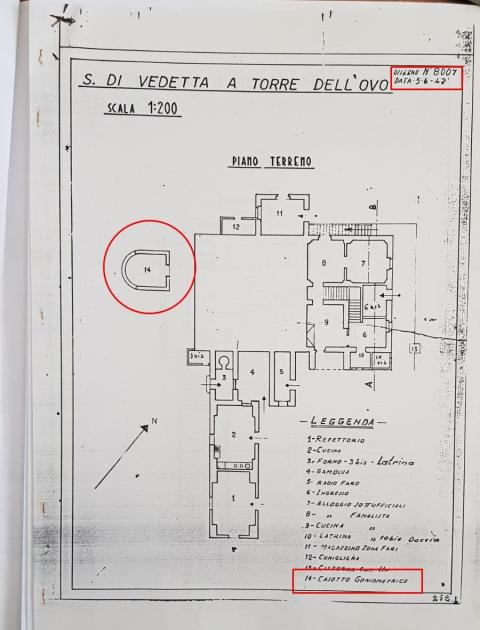 """Torre dell'Ovo. La """"casamatta"""" non era """"matta"""". Ma..."""