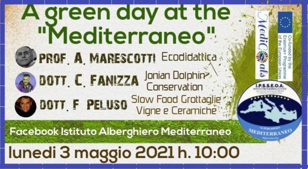 L'alberghiero Mediterraneo forma i professionisti del futuro che siano prima di tutto cittadini attivi, consapevoli e responsabili
