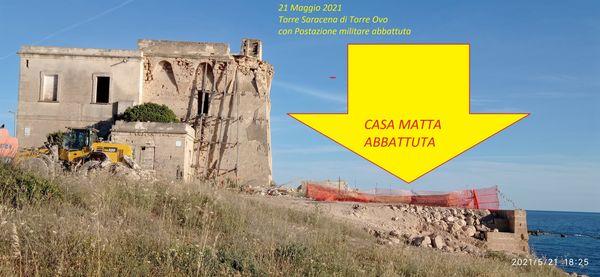 """Fotonotizia - Che fine ha fatto la """"casa matta"""" di Torre dell'Ovo?"""
