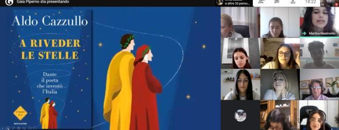 GLI STUDENTI DEL LICEO DE SANCTIS GALILEI IN (O)MAGGIO A DANTE