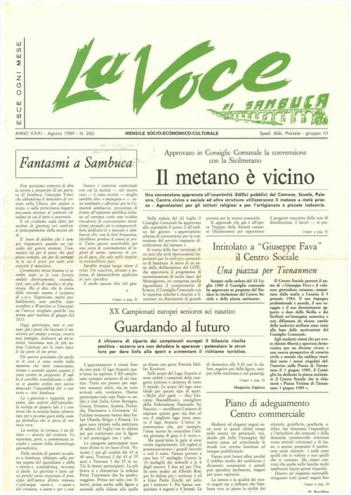 ANTEPRIMA N.282 Agosto 1989
