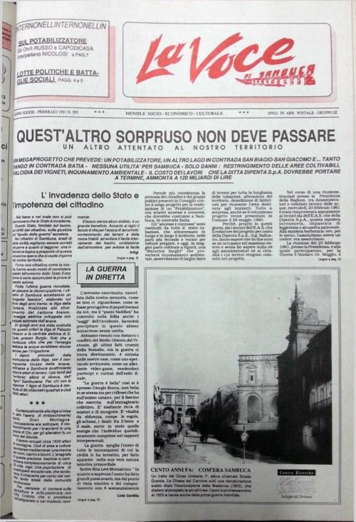 ANTEPRIMA N.295 Febbraio 1991