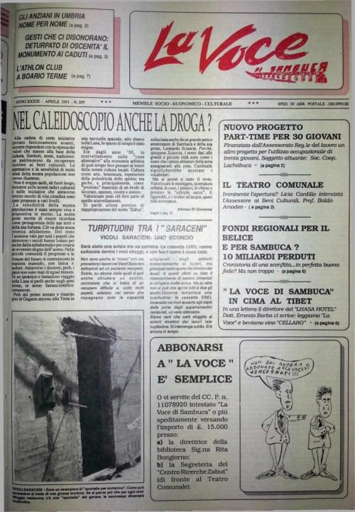 ANTEPRIMA N.297 Aprile 1991