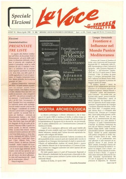 ANTEPRIMA N.352 Marzo Aprile 1998