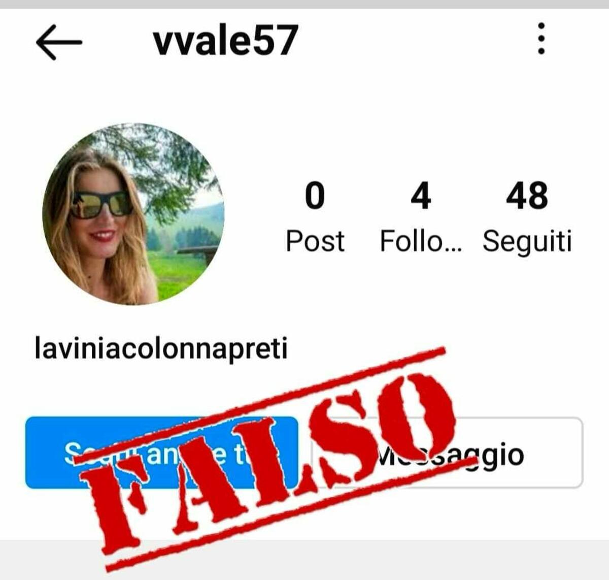 «Mi hanno clonato il profilo Instagram»: l'assessore Colonna Preti lancia un appello