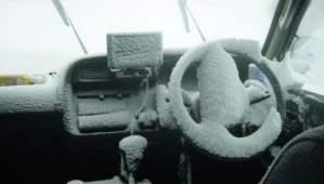 Voiture hybride en hiver : problème ?