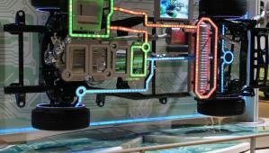 Fonctionnement d'une voiture hybride