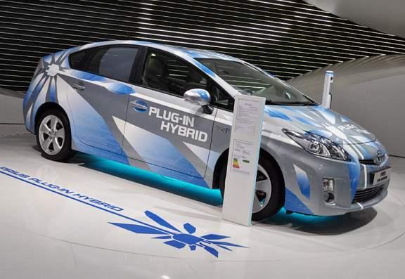 prius plugin hybride paris 2010