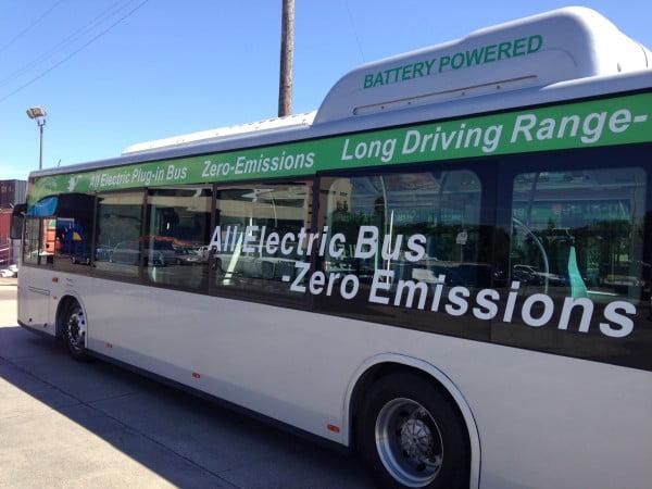 Un bus électrique