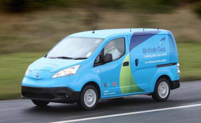 e-nv200 British Gas