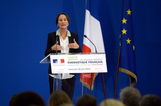 segolene royale. transition energetique