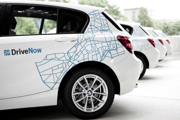 BMW DriveNow autopartage