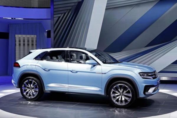 La Volkswagen Cross Coupe GTE Concept