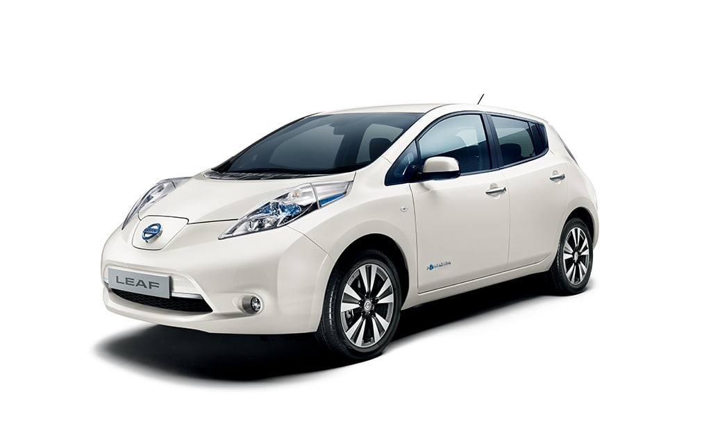 nissan leaf voiture lectrique essais prix caract ristiques. Black Bedroom Furniture Sets. Home Design Ideas