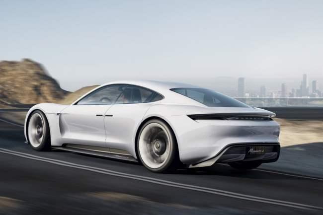 Voiture électrique du futur Porsche