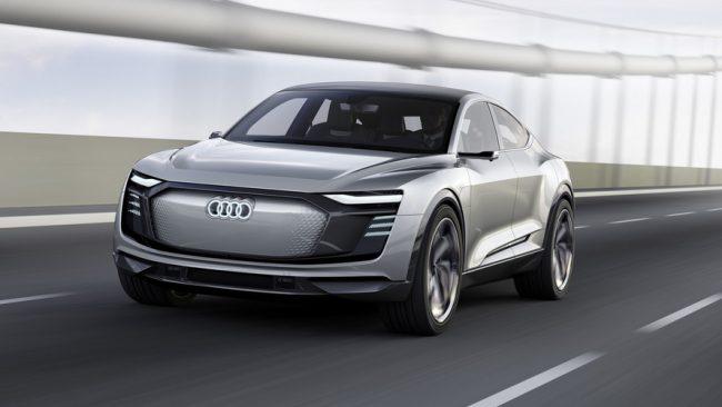 Voiture électrique Audi e-tron GT